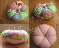 Patchwork Pin Cushions - Replacement Swap