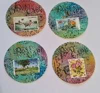 ATC Coins - Used stamps