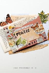 Botanical Themed Envelope #1
