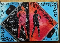 Handmade Art Journal Go Round R59