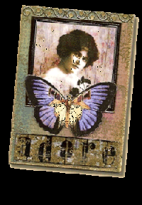 EATC: Vintage Lady ATC