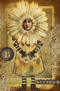 Flower Face Zetti Journal Page