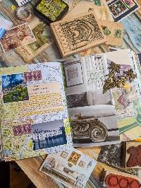 Art/Junk Journaling Experiment 110 INTERNATIONAL
