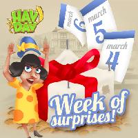 a week of surprises