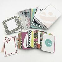 Project Life Card flip book swap