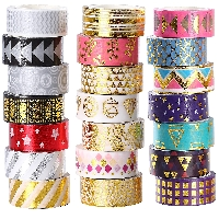 ESO:  Crazy eight washi tape swap #2