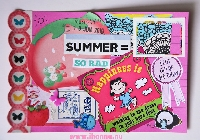 USAPC: Index Card Collage Art #4
