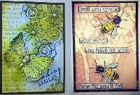 EASU: Bees & Butterflies ATC