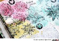 Handmade Art Journal Go Round R60