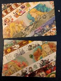 simple washi strips postcards-famous char-USA