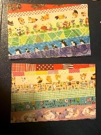 simple washi strips postcards-rainbow-USA