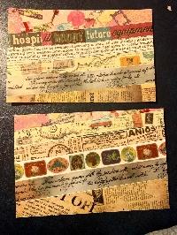 simple washi strips postcards-vintage-USA
