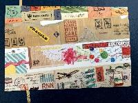 simple washi strips postcards-MT brand-global