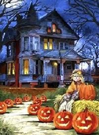 Halloween Themed Journal and Flat Gift - USA