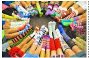 Funky Socks Swap August 2021