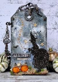 USAPC:  Halloween Tag Series:  Witch!