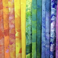 Handmade ATC background papers