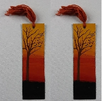 Handmade Bookmark and letter
