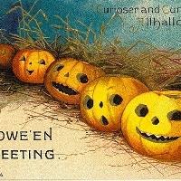 USAPC:  Halloween Tag Series: Jack-O-Lantern!