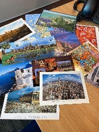 USED postcards swap #15