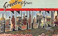 PS ~ Postcard From PA, DE, MD, NJ, NY, OH or WV