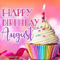 August Birthday Wishes