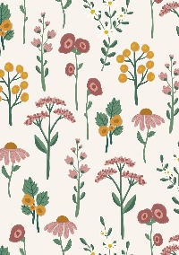 Floral Themed Mail