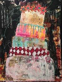 Handmade Art Journal Go Round R63
