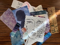 Art Journal Fodder Swap