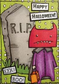 Free Theme Halloween ATC Swap - USA Only