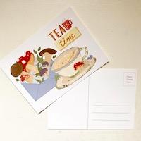 Mushroom Postcard Swap
