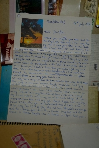 Traveling letter back at it again #12