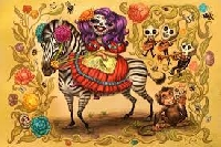 ☠ Day of the Dead Postcard swap ( Edited ) 👻