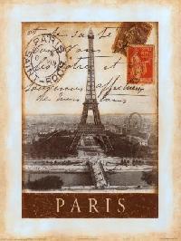 Vintage Paris Inspired ATC