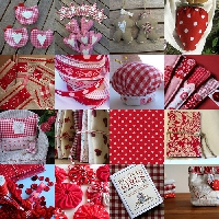 the handmade co. - red and white swap