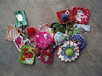 Fabric Jewelry Charm Swap