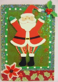 Christmas in July ATCs