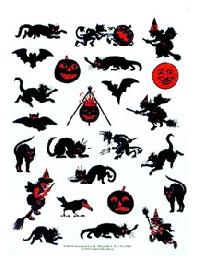 HYR ~ Halloween Stickers