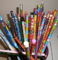 Pencils in your Mailbox