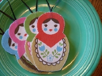 Matryoshka ornament swap!