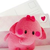 ♥Handmade Postcards #2 : Pink♥