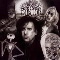 Foundation 42 ATCs series - Tim Burton
