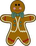 Gingerbread Man ATC