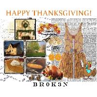 ♡ Thanksgiving Polyvore ♡