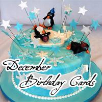 December Birthday Cards 2010