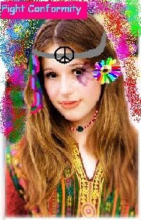 Hippie Chick ATC
