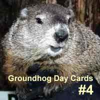 Groundhog Day Cards #4