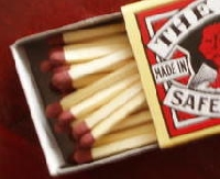 A scene in a matchbox