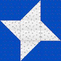 Friendship Star Quilt Block -Int'l & Newbies Rnd 2