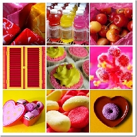FAA Lucky Parcel #54: Pink & Yellow